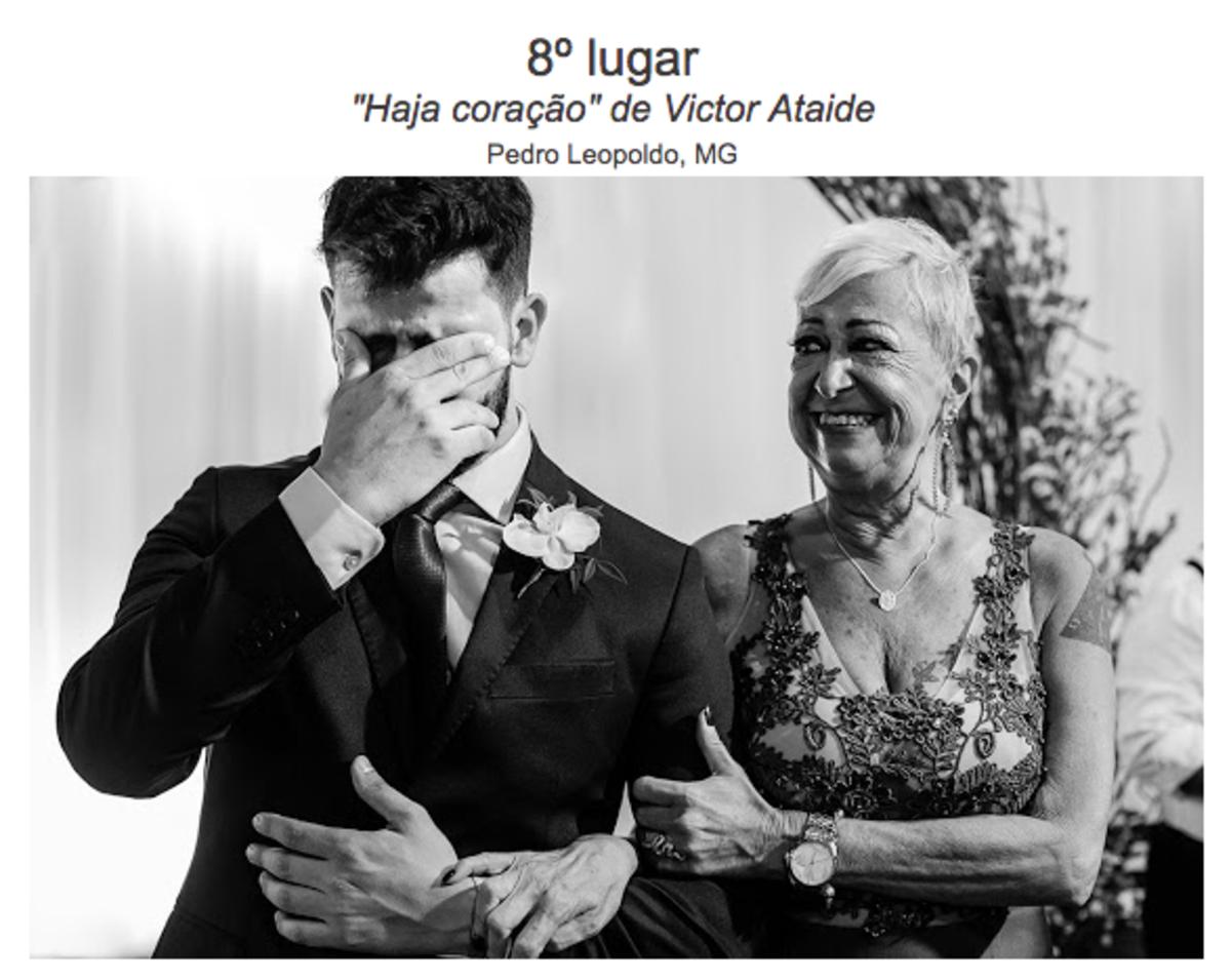 Fotografia Premiada - Prêmio Foto Hera, entrada noiva