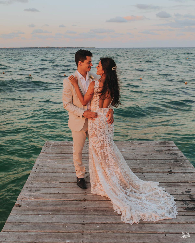Casamento em Cancún, México, Casar no exterior, Destination Wedding, Ensaio