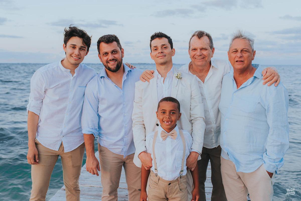 Casamento em Cancún, México, Casar no exterior, Destination Wedding, Groom