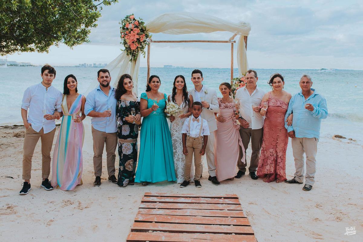 Casamento em Cancún, México, Casar no exterior, Destination Wedding