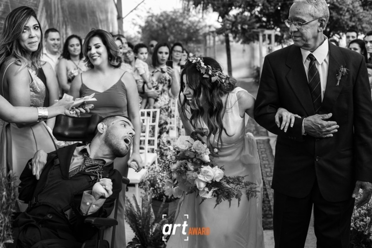 Fotografia Premiada - Fine Art Association - entrada noiva