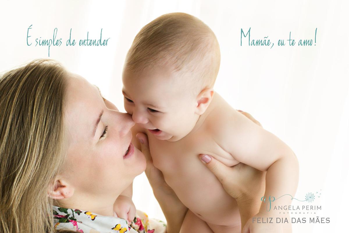 Imagem capa - Mamãe, eu te amo! por Angela Teresa Perim Carreiro
