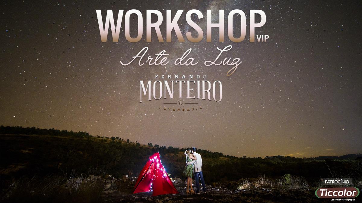 Imagem capa - Workshop Arte da Luz por Fernando Monteiro
