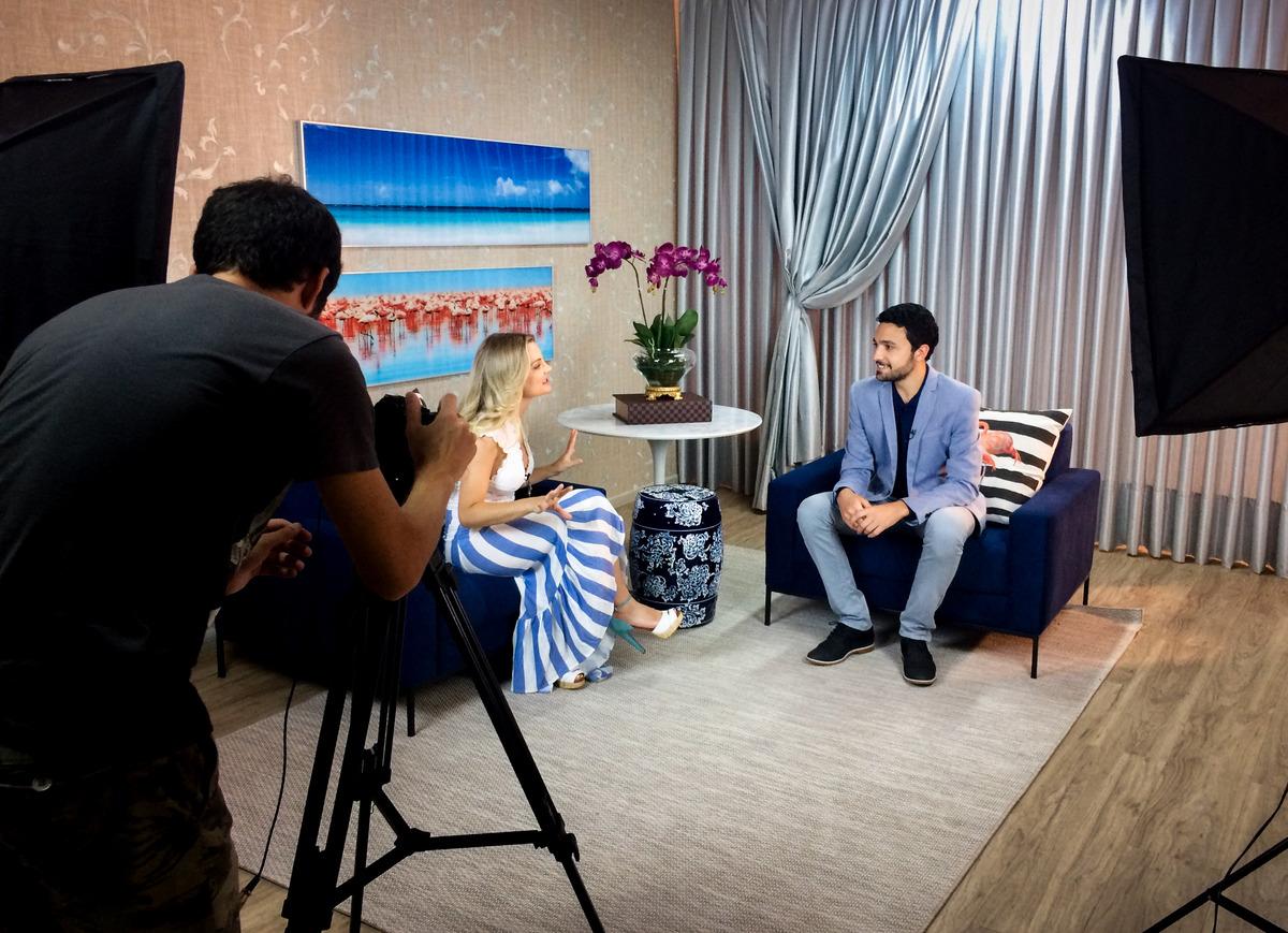 Imagem capa - Entrevista para o programa