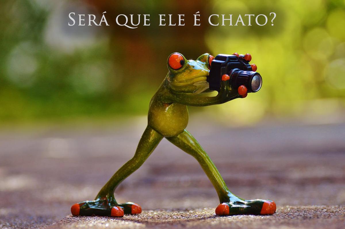 Imagem capa - Será que ele é chato? por Fernando Barreto