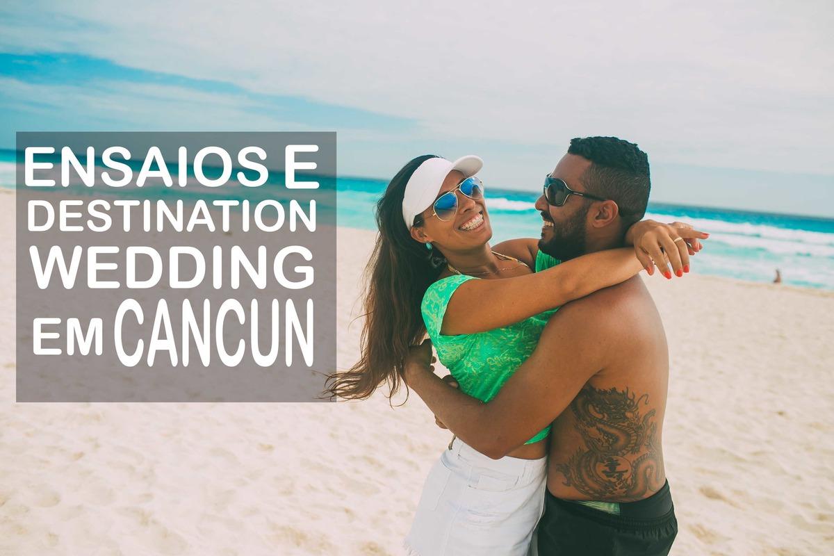 Imagem capa - Ensaios e Destination Wedding em Cancun por Alexandre Lizardo