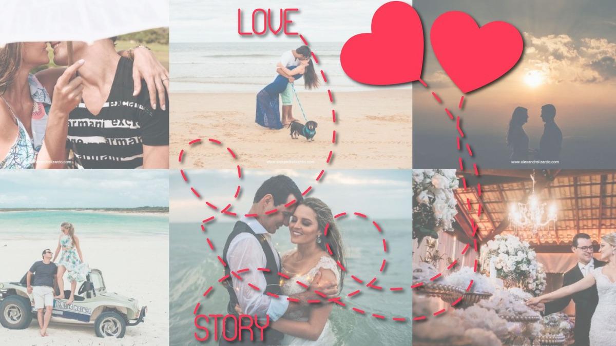 Imagem capa - Pacote Love Story por Alexandre Lizardo
