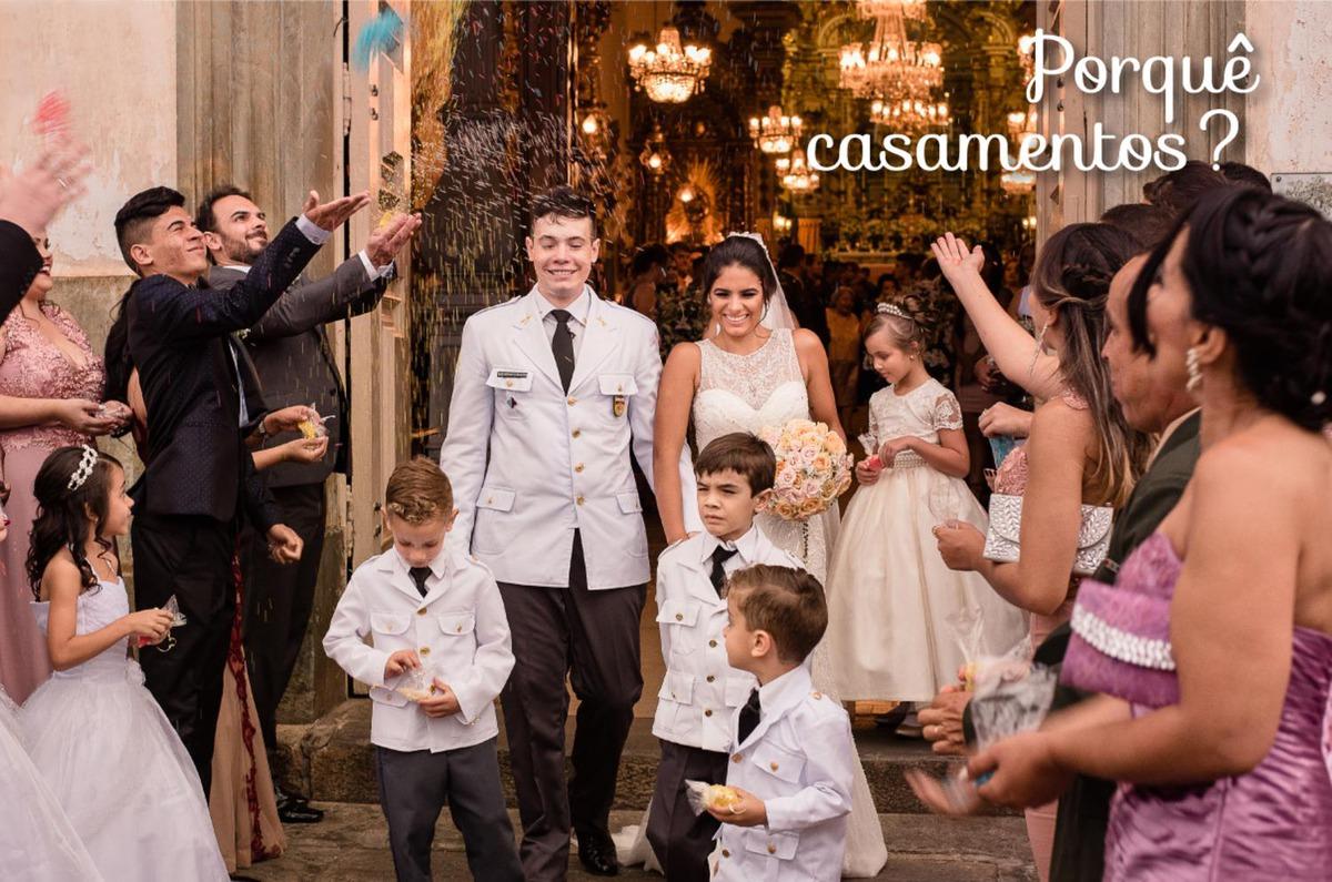 Imagem capa - Porquê casamentos? por HR - Histórias Reais