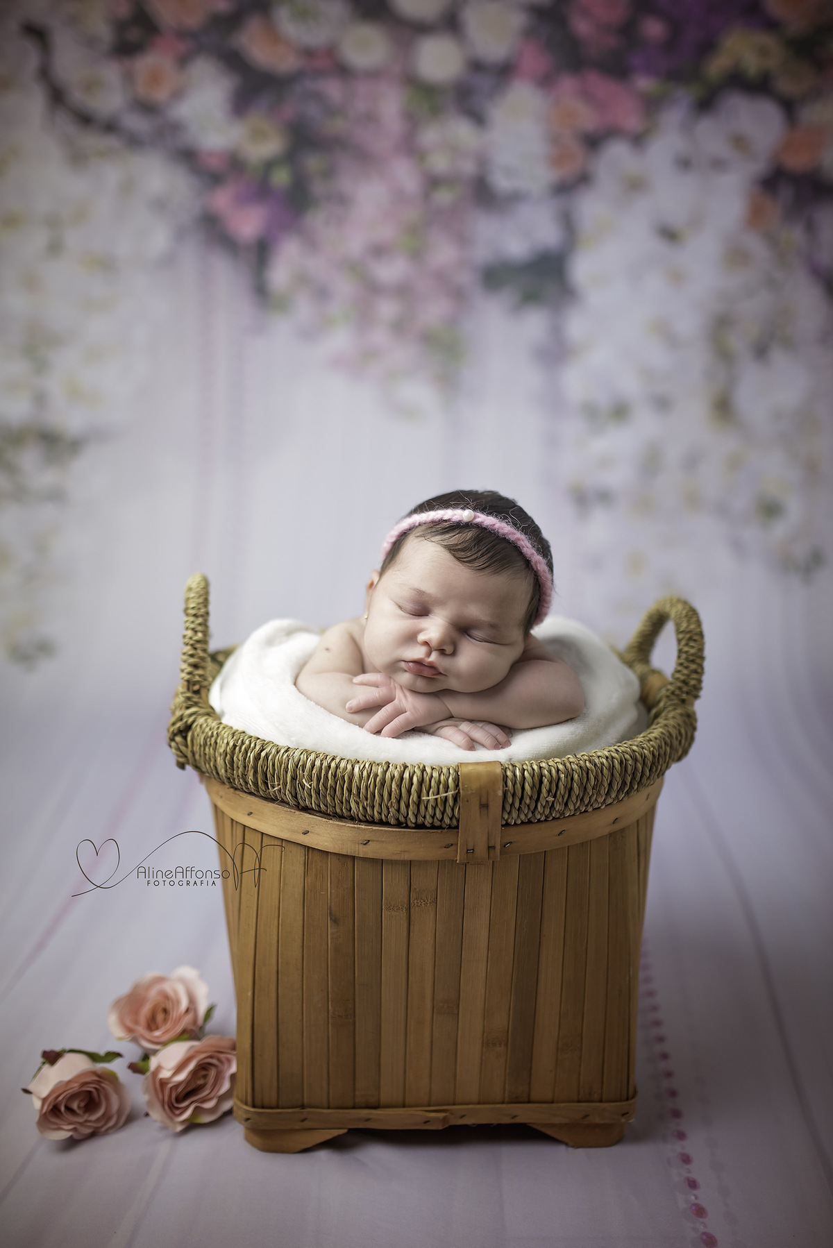 Imagem capa - Ensaio Newborn- Alice 13 dias por Aline Affonso