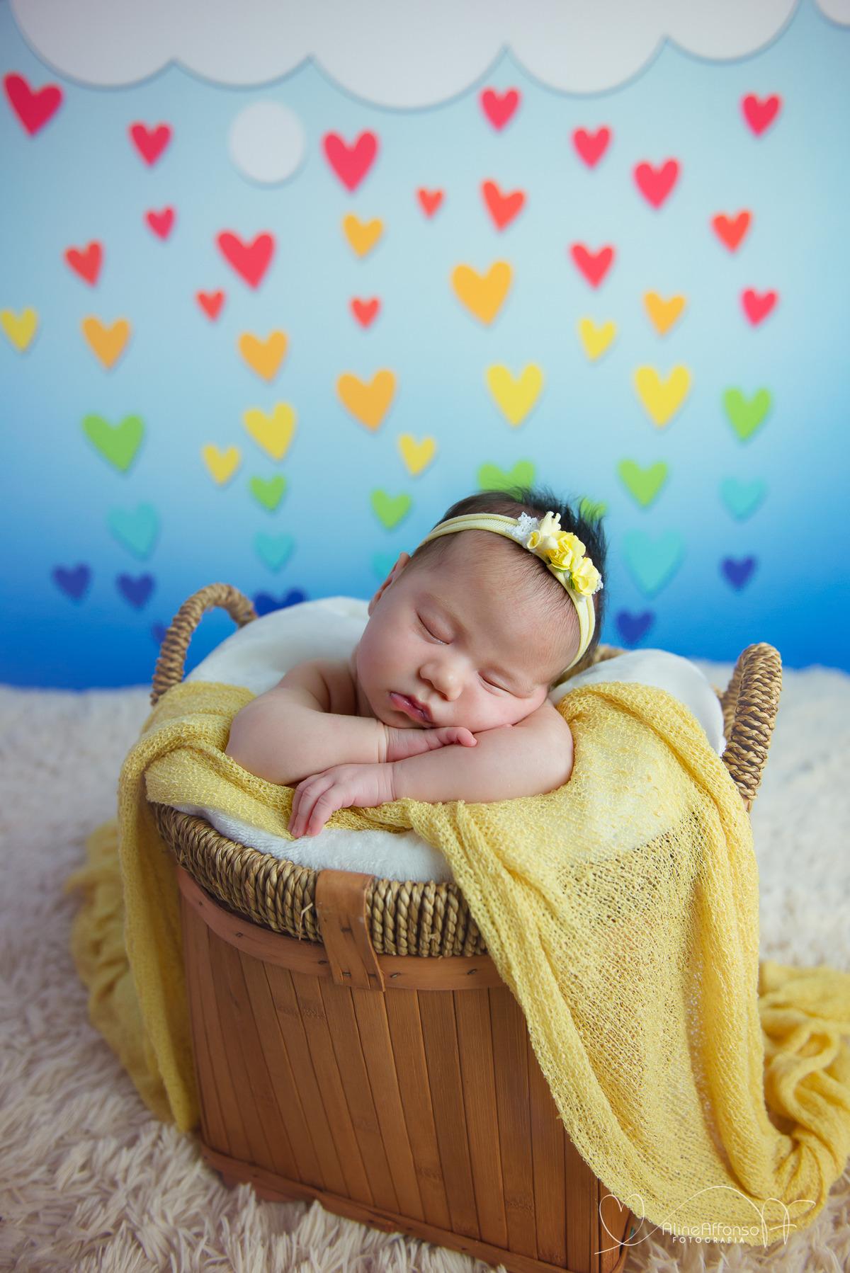 Imagem capa - A doce Valentinha - Ensaio Newborn por Aline Affonso