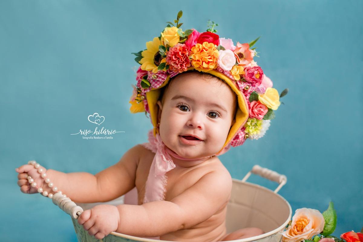 Imagem capa - Clarisse {6 meses} - Acompanhamento Infantil por RISOLETA DE CARVALHO HILARIO