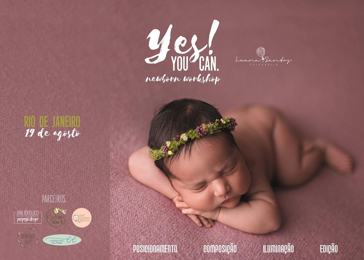 Imagem capa - Novidades no Workshop Yes, you can! por Luana