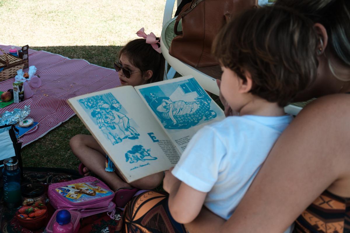 Imagem capa - Piquenique Literário entre Famílias por Fernanda Oliveira