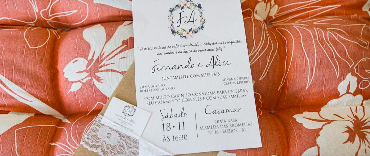 Imagem capa - Casamento na praia ! Alice e Fernando I Búzios  por Jéssica Andrade