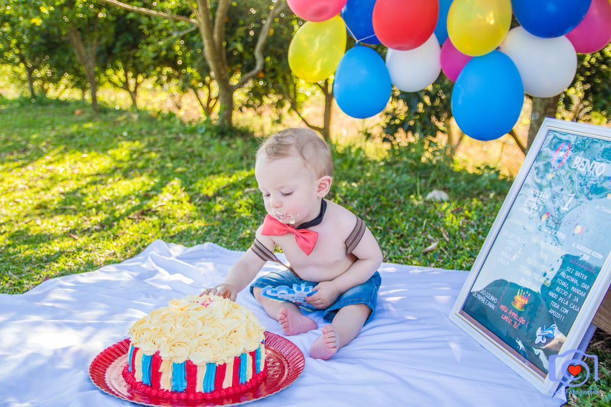 Imagem capa - O que acontece por traz da lambuzeira no ensaio Smash The Cake? por Glaucia da Costa