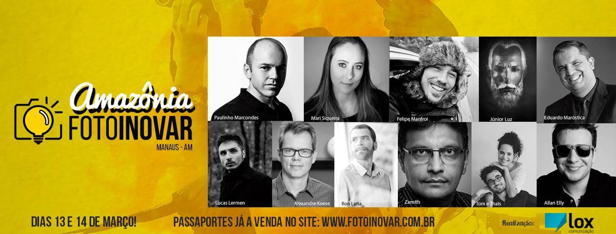 Imagem capa - Palestra | Fotoinovar | Manaus - AM por Lucas Lermen Fotografia