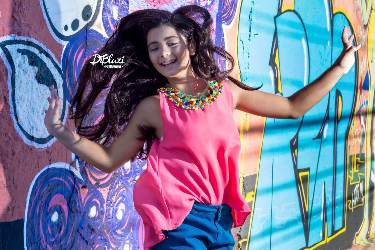 Imagem capa - Ensaio Fotográfico kids -Beautiful - Karoline 11 aninhos por Ricardo Di Blazi