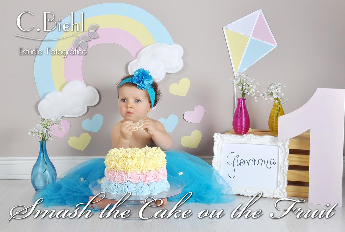 Imagem capa - Smash the Cake ou The Fruit por C.Biehl Estúdio Fotográfico