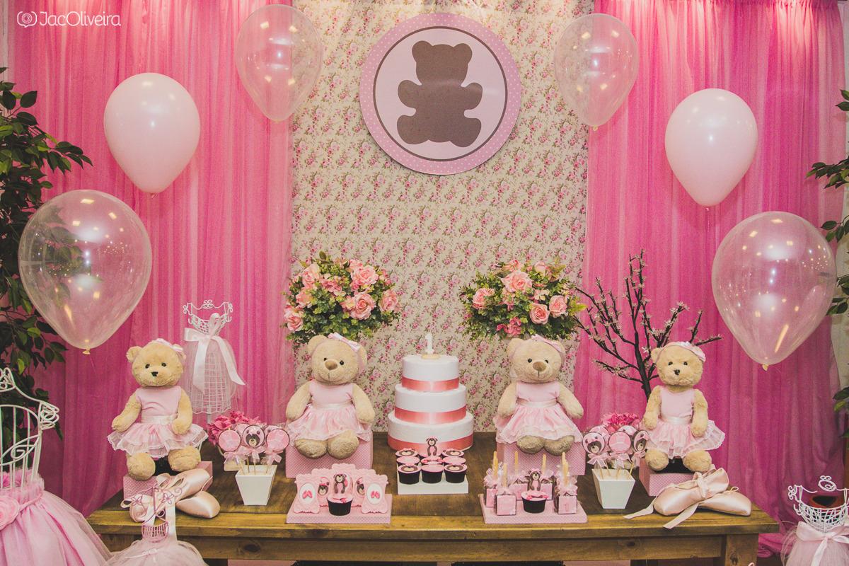 decoração festa infantil bonecas e ursas