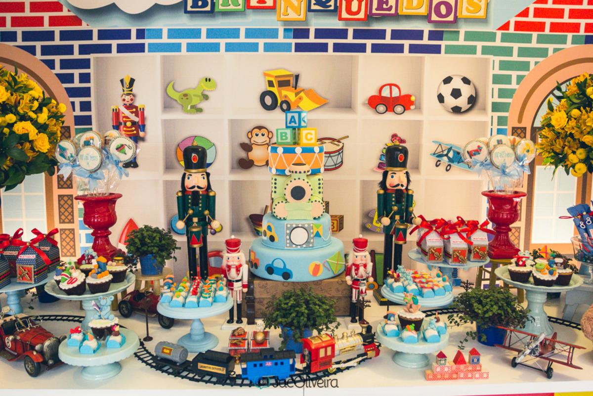 decoração festa em casa mundo dos brinquedos