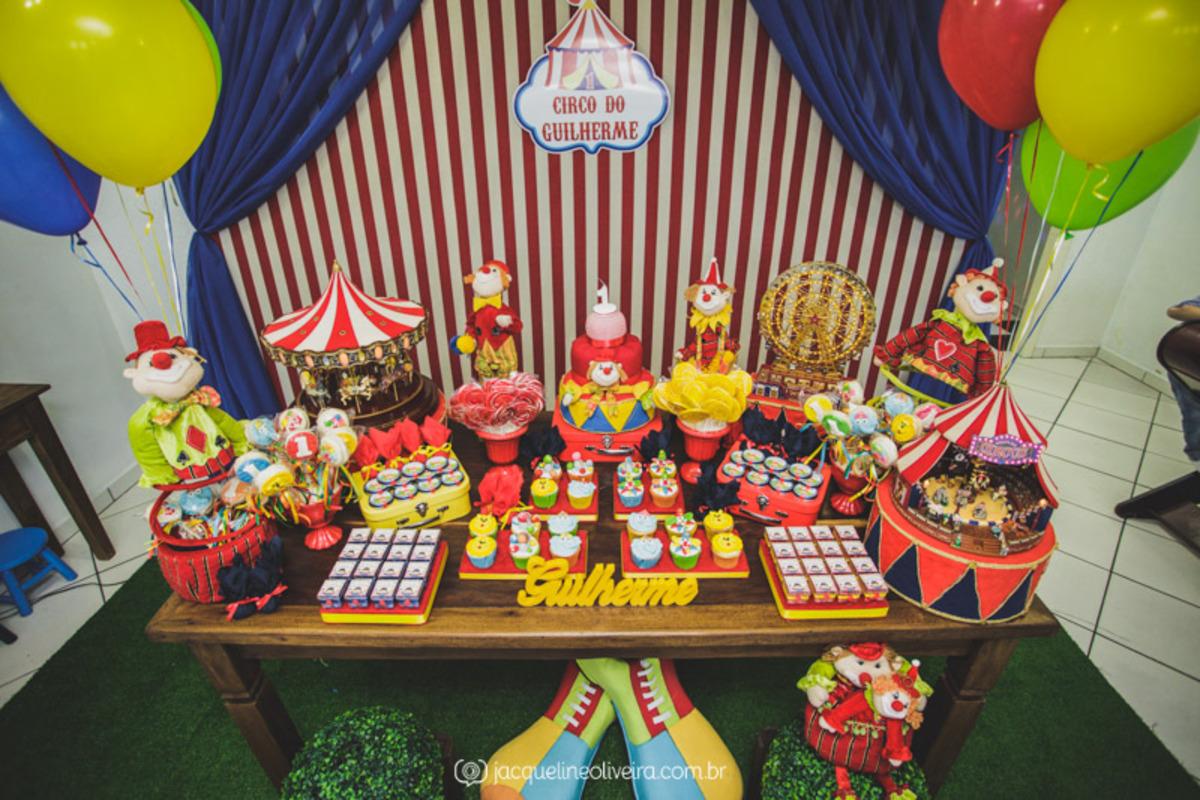 decoração circo infantil