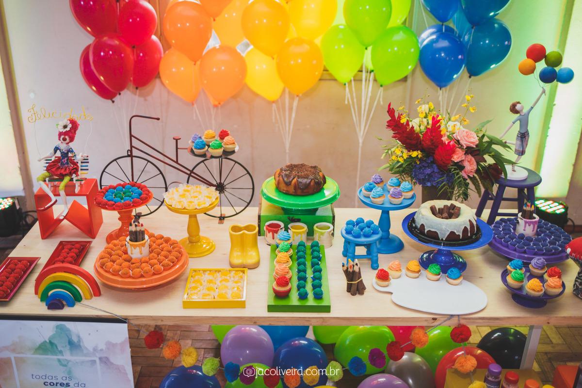 mesa decorada esperança festejar e receber porto alegre fotografo infantil