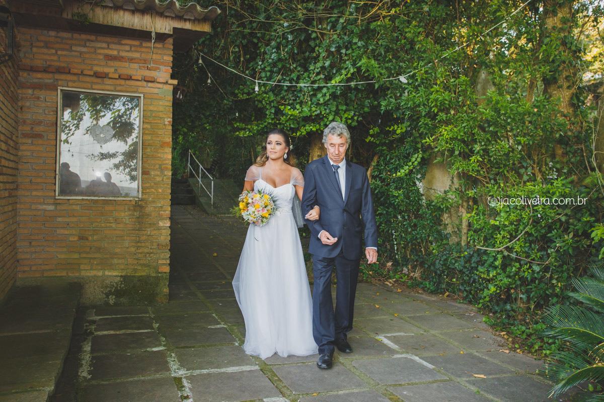 entrada da noiva manuela no la piedra fotos jac oliveira