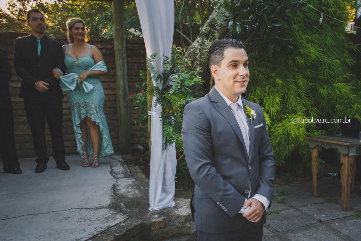 noivo esperando noiva la piedra jac oliveira fotografa