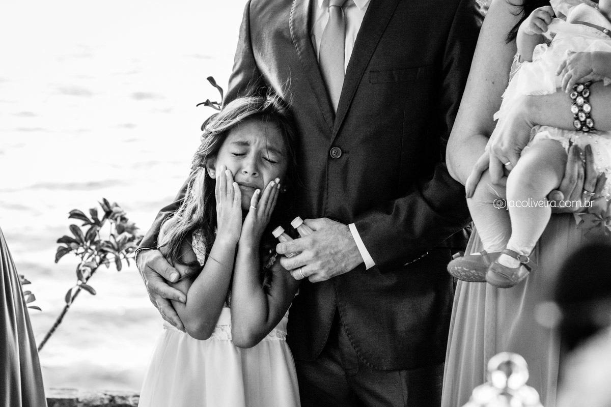 daminha chora no casamento porto alegre fotografa jac oliveira