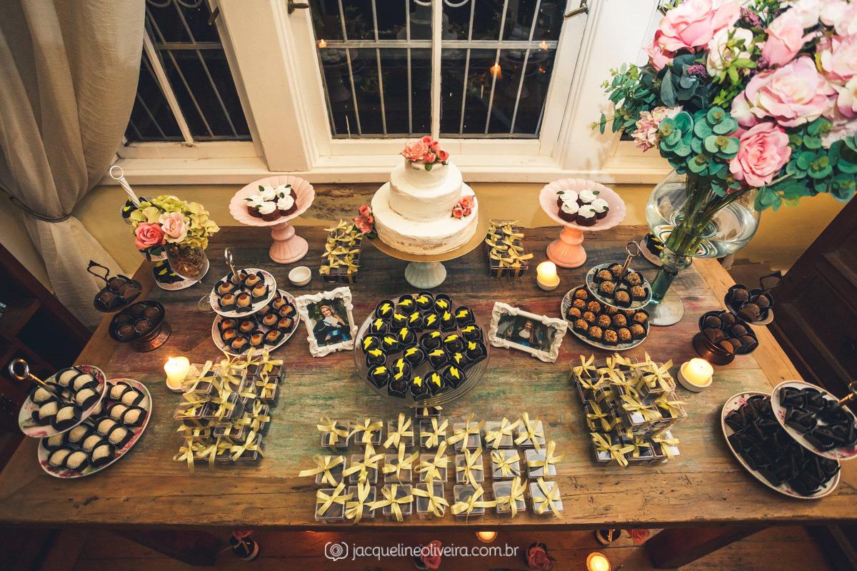 mesa de doces formatura house café bistro porto alegre