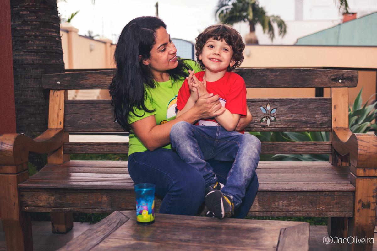 fotografo aniversário infantil porto alegre e esteio pedro fez 5 em casa com mãe