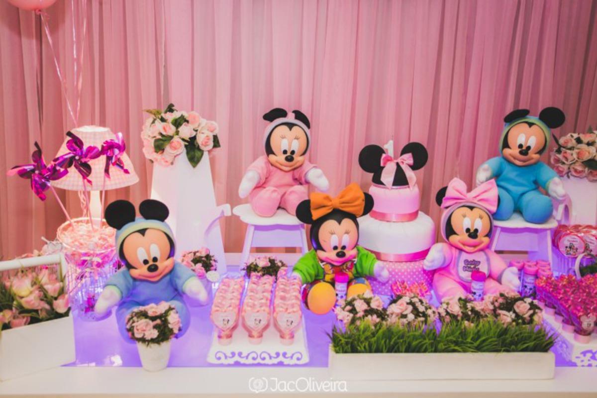 decoração festa menina disney baby