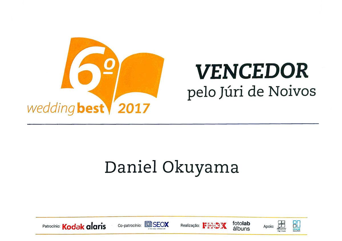 Imagem capa - Prêmio Wedding Best – O Álbum Daniel Okuyama Vencedor Júri de Noivos por Daniel Okuyama Fotografia - fotografo de casamento  São Paulo - Daniel Okuyama  fotografo de casamento sp