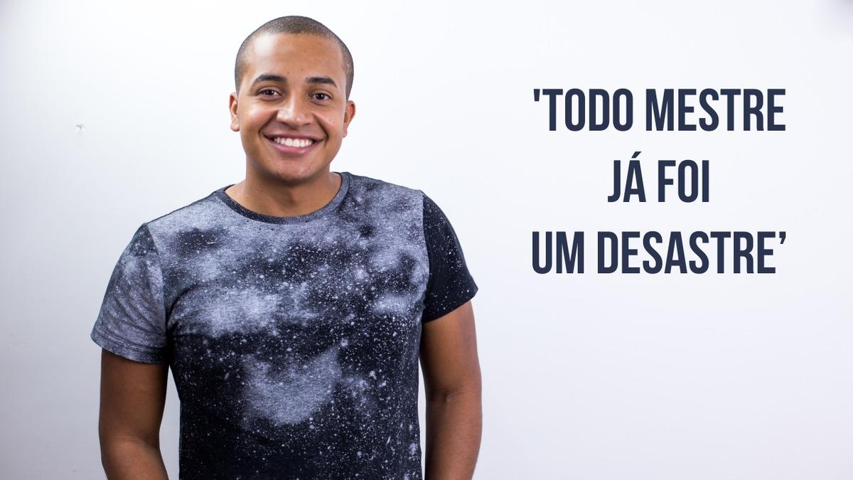Imagem capa - Todo Mestre já foi um desastre | Além da Fotografia por Breno Martins