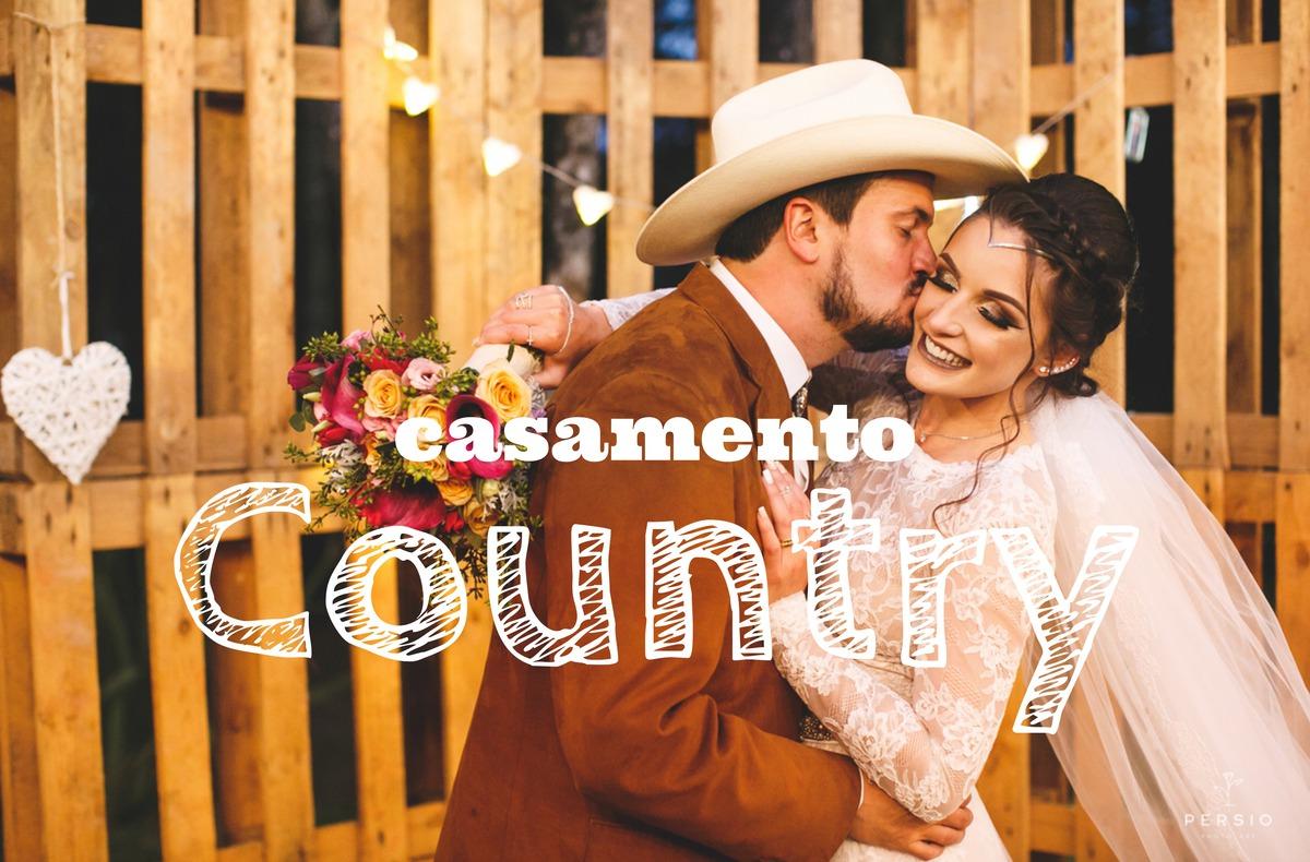 Imagem capa - Casamento country ao ar livre, super autêntico por Raphaela e Heliel Persio