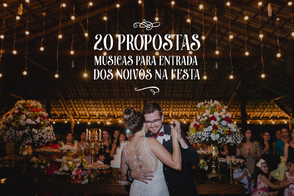 Imagem capa - 20 propostas de músicas para a entrada dos noivos na festa por CHRISTIAN OLIVEIRA