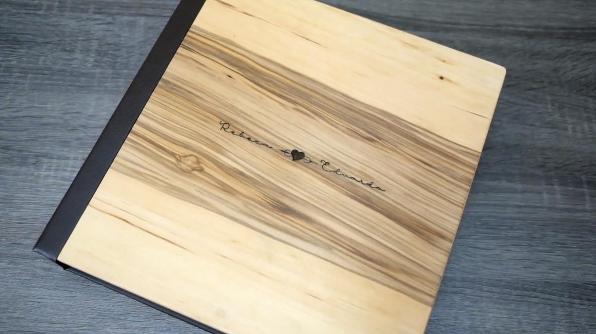 Imagem capa - Álbum e Caixa em madeira exótica por Junior Barreto