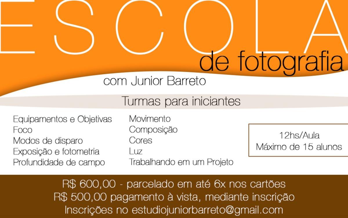 Imagem capa - Escola de Fotografia com Junior Barreto por Junior Barreto