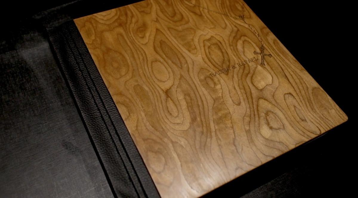 Imagem capa - Série Álbuns Luthier com madeira exótica por Junior Barreto