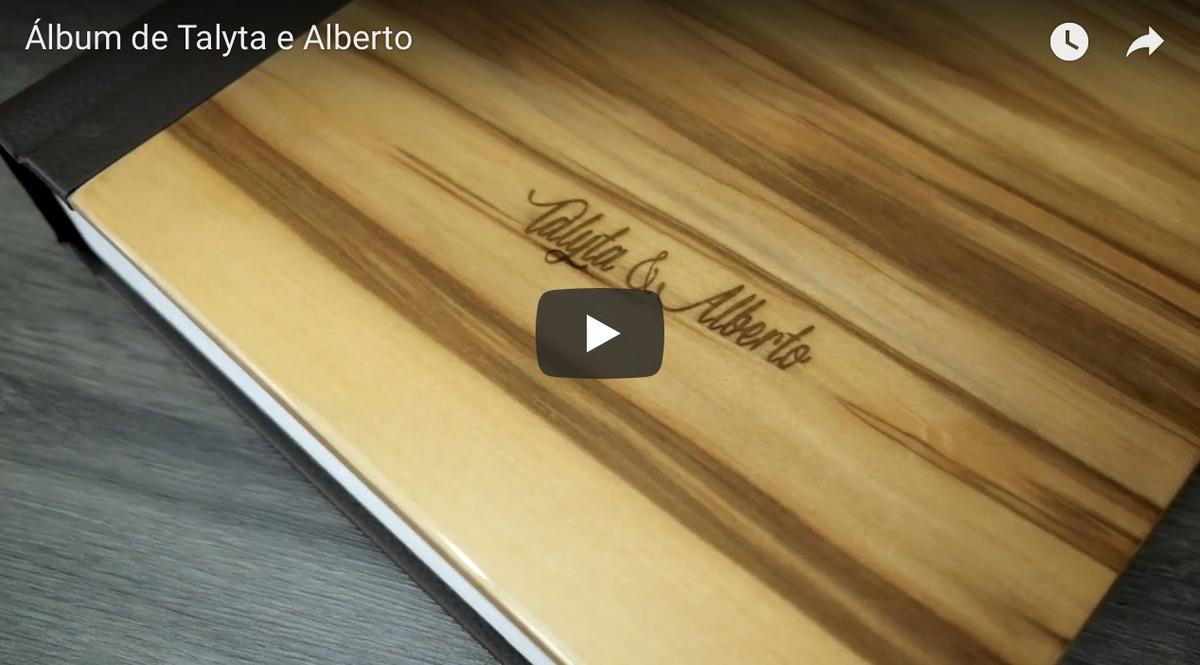 Imagem capa - Álbum de Talyta + Alberto: Madeira Exótica Laqueado por Junior Barreto
