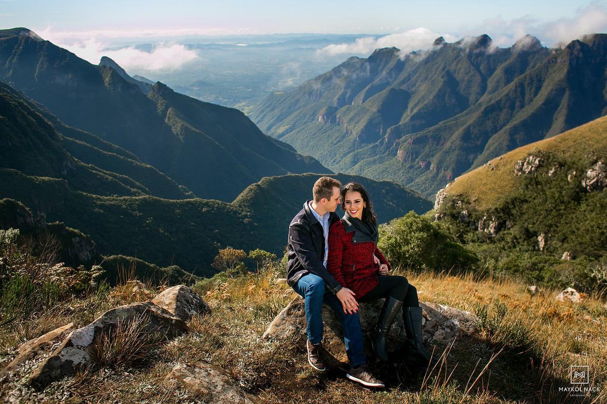 Fotos Pré-Casamento na Serra do Rio do Rastro