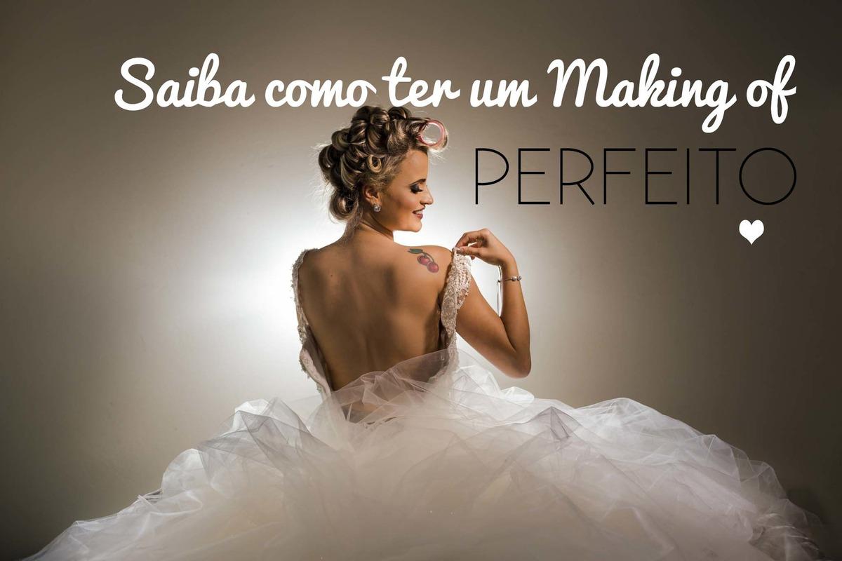 Imagem capa - Saiba como ter um Making of da Noiva PERFEITO por Rodrigo Moreira Fotografia