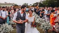 Casamento Criativo no Campo de Natália e Denys