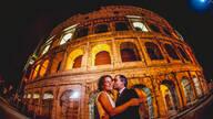 PRÉ - WEDDING COLISEU - ROMA - ITÁLIA de ANDREA DE ROSSI + VERA ORABONA