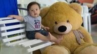 Aniversário Infantil de Yuri Kenzo e o Urso