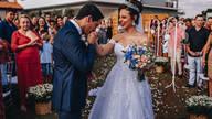 Casamento Romântico ao Ar Livre de Rafa + Danilo