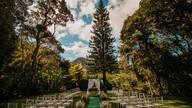 Espaço para casamentos externa de
