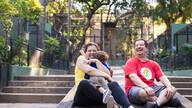 de Denise, Leo e Alexandre . Uma tarde no Zoo