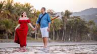 de Ensaio Pré-Casamento Jaqueline e Gustavo