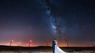 Cristina e Patricio de Milky Way Love